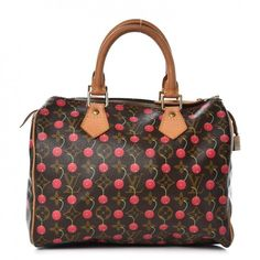 d97141695e7231 LOUIS VUITTON Monogram Cerises Speedy 25 on Fashionphile Louis Vuitton  Store, Louis Vuitton Handbags,