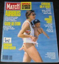 Paris Match July 8, 1988 #2041-Princess Caroline,Airbus Crash,Paul Hogan 4 page