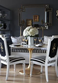 Cute Decor: black and white