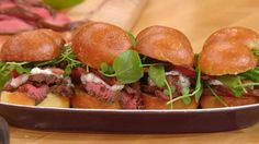 Rachael Ray Show - Food - Grilled Petite Filet Sliders