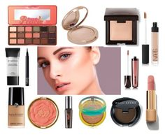 """""""Get the look"""" by lulamakeuplover on Polyvore featuring Belleza, NARS Cosmetics, Smashbox, Chanel, Laura Mercier, Too Faced Cosmetics, Milani, Benefit, Physicians Formula y Hourglass Cosmetics"""