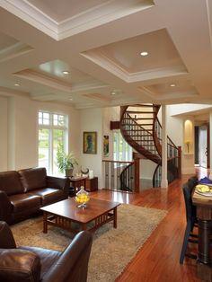 Altadore Manor - traditional - living room - calgary - Stephens Fine Homes Ltd