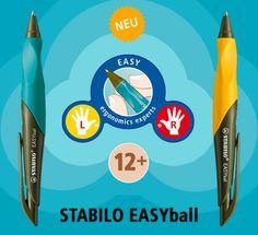 STABILO EASYball, le altre penne ergonomiche Stabilo (e si che ne ho comprate) erano ciofeche, questa è veramente OK.