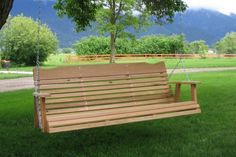 Amish Crafted 5' Cedar  Porch Swing von CSCedarProductsInc auf Etsy, $229.95