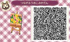 Brick Flower Bed - Animal Crossing New Leaf QR Code