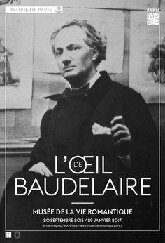 Exposition L'oeil Baudelaire - Septembre 2016/Janvier 2017 - Musée de la Vie Romantique - Paris
