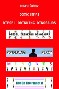 See three more funny comic strips at Diesel Drinking Dinosaurs. Click this pin and be entertained not by one, but by four comic strips. Don't be stuck for a laugh with all these funny comic strips on a single website. Photography Website, Photography Blogs, Funny Comic Strips, Number Two, Funny Comics, Dinosaurs, Diesel, Drinking, Funny Pictures