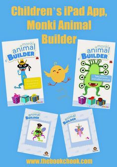 The Book Chook: Children's iPad App, Monki Animal Builder