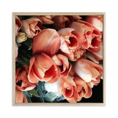 """""""Tulips Tulips Tulips"""" - Art Print by Jan Kessel in beautiful frame options and a variety of sizes."""