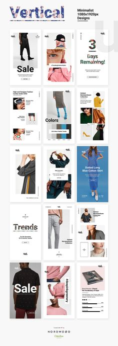 QUE – Fashion & Retail Social Media by NordWood on Creative Market … – fashion editorial layout Moda Instagram, Banner Instagram, Instagram Design, Instagram Square, Instagram Story, Editorial Design Magazine, Magazine Layout Design, Editorial Layout, Editorial Fashion