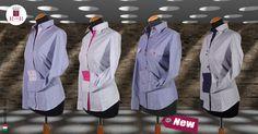 E' tempo di maniche lunghe! Nuova collezione camicie donna maniche lunghe. #madeinitaly 100% cotone #tutteletaglie anche #taglieforti  #robyandroby #camiciadonna #womensshirt