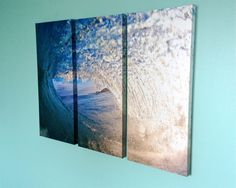 A personal favorite from my Etsy shop https://www.etsy.com/listing/224470847/hawaiian-surf-canvas-printtriptych-surf