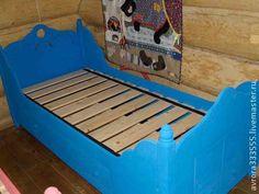 кроватки детские в русском стиле - кровать,детская кровать,русский стиль