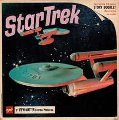 STAR TREK The original TV series View-Master set 1968  (minkshmink) Yes I love Star Trek.