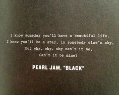 """""""Black"""" - Pearl Jam - All Time Fave Song"""
