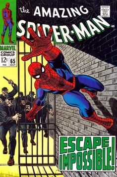 THE AMAZING SPIDER-MAN #65  MARVEL COMICS GROUP  OCTOBER 1968  $.12