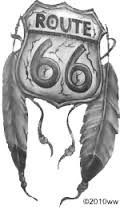Image result for route 66 tattoo