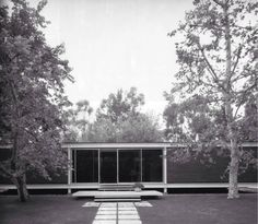 Rosen House, Craig Ellwood, 1963 Temporary Architecture, Facade Architecture, California Architecture, Arch House, Weekend House, Mid Century House, Deco, Exterior, House Design