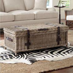 Hammary Boracay Coffee Table Trunk Home Decor Pinterest - Woven trunk coffee table