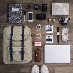 coffeentrees:  #WellPacked with adventure in mind. Photo: @eligoesaround @story_online #LittleAmerica #WellTravelled #HerschelSupply by herschelsupply
