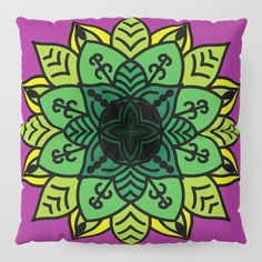 Digital version of my hand drawn mandala. My Works, Floor Pillows, Hand Drawn, How To Draw Hands, Mandala, Flooring, Digital, Illustration, Prints