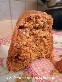 κορίτσι μάλαμα: Πεντανόστιμο κέικ με μήλο και βρώμη!!!