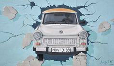 DDR car - East Side Gallery, Berlin
