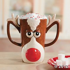 Reindeer Mug.......for my christmas coffee..mmm