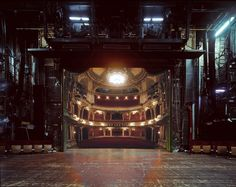 Stunning photographs offer a rare behind-the-scenes view of theatre stages | Creative Boom
