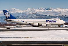 Polar Air Cargo B747-400F, ERF (N454PA) aircraft at Anchorage ~ photo by Angelo Bufalino
