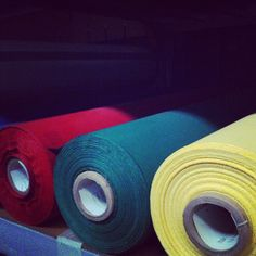 Colors and fabrics