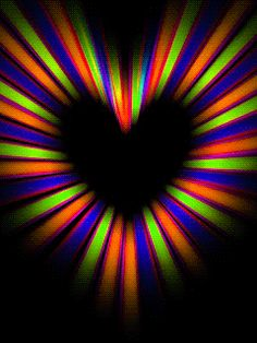 Heart of colours