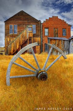 Autumn at Ghost Town, Bodie State Historic Park, California