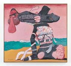 Philip Guston, San Clemente (1975), oil on canvas.