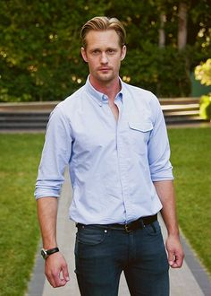 Alexander Skarsgård, I don't care who he's cast as. I need him in my life. ❤