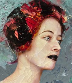 Lita Cabellut, Color of Dew 18, 2015, Opera Gallery