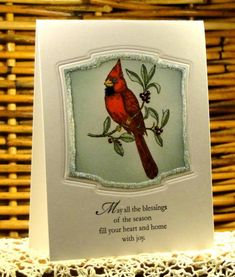 Cardinal Christmas 2010 by AudreyAnn - Cards and Paper Crafts at Splitcoaststampers
