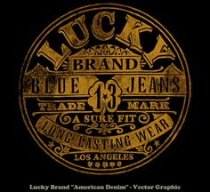 lucky brand graphic