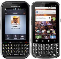 Motorola Titanium and XPRT for Sprint
