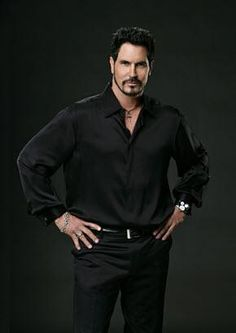 BILL SPENCER (CHARACTER) ON 'THE BOLD AND THE BEAUTIFUL' SOAP OPERA