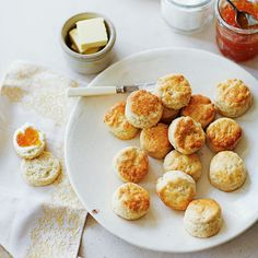 A perfect scone is a beautiful thing – light, not too sweet and topped with thick clotted cream and your favourite jam.