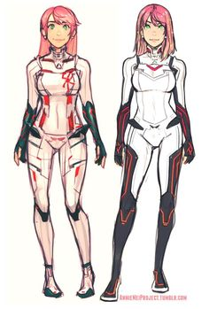 Someone asked for a side by side comparison of Annie's two suits and I'm convinced now the new one works for me