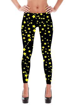 Star Leggings - Star Costume - Night Sky Leggings - Womans Leggings - Yoga Leggings - Sky Leggings - Christmas Leggings - Christmas Gift