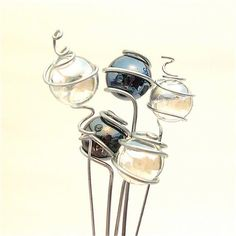 Super Special RESERVED Listing for Lynne Miniature Garden Gazing Balls Set of 5…