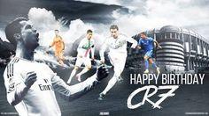Cristiano Ronaldo, Happy Birthday, Christian, Movies, Movie Posters, Soccer, Behance, Football, King