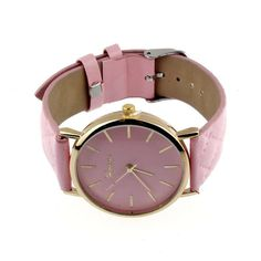 Yazole Checkers Faux Dress Watch Leather