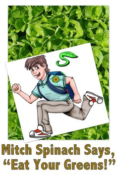 Mitch Spinach is excited to read the new study that says:  Spinach influences gene expression to cut colon cancer risk in half! This study reminds us that eating your greens is so important. Try making the Mitch Spinach Super Smoothie every morning to insure your kids' daily greens consumption! Get the recipe at http://mitchspinach.com/recipes/mitch-spinach-super-smoothie    Read more about about this powerful study conducted at Oregon State University:  http://www.Facebook.com/MitchSpinach