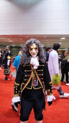 The Clockwork Men cosplay from Dr Who.