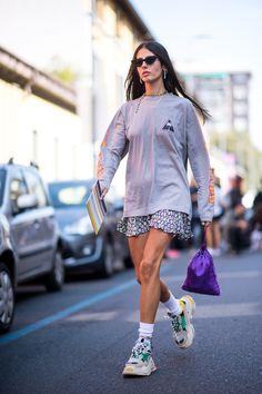 STYLE W SUN Street Look, Street Style, Gilda Ambrosio, Le Specs, Fashion Ideas, Fashion Tips, Bella, Seoul, Balenciaga