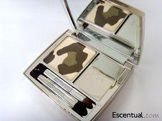 Dior Golden Jungle Palette -Panther Eyeshadows and Lip Gloss  001 Golden Khakis